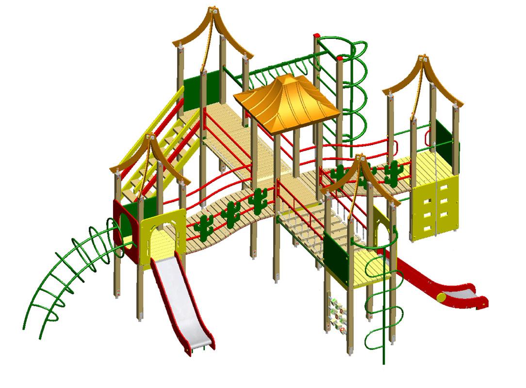 Игровой комплекс С038