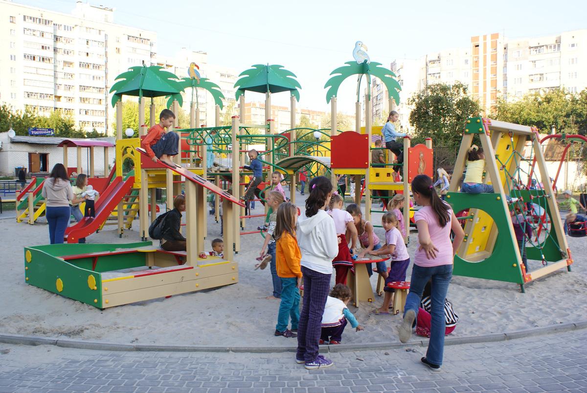 Детская площадка в Броварах